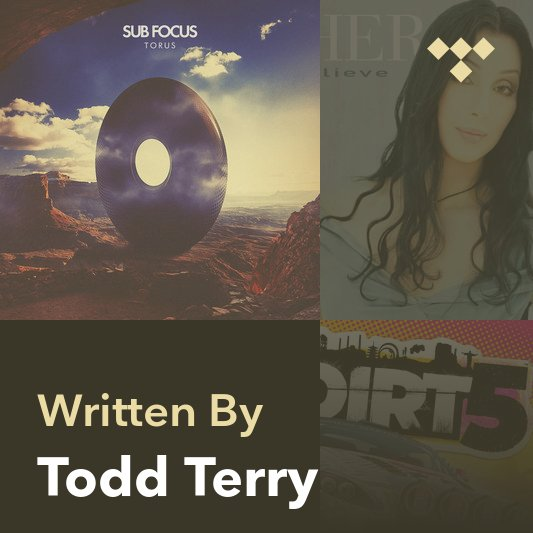 Songwriter Mix: Todd Terry