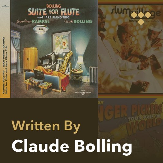 Songwriter Mix: Claude Bolling
