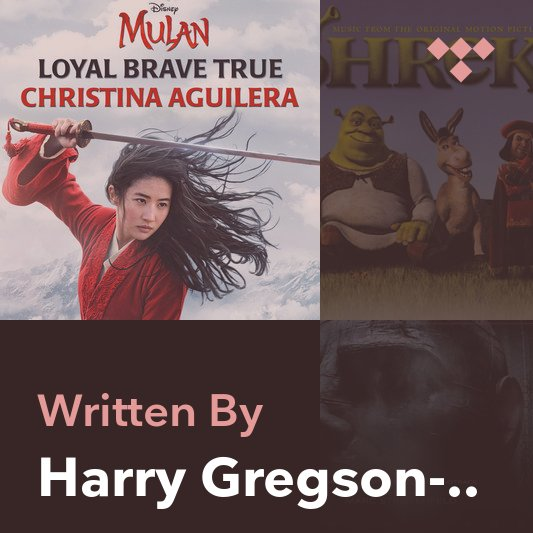 Songwriter Mix: Harry Gregson-Williams