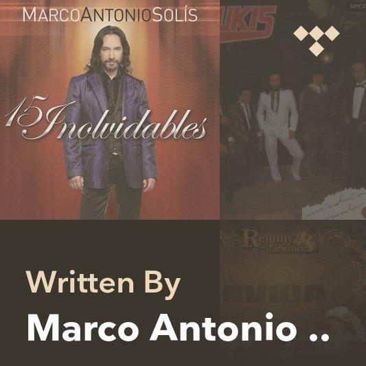 Songwriter Mix: Marco Antonio Solís