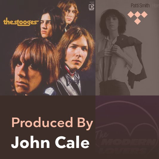 Producer Mix: John Cale