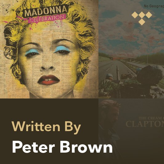 Songwriter Mix: Peter Brown