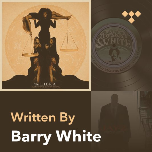 Songwriter Mix: Barry White