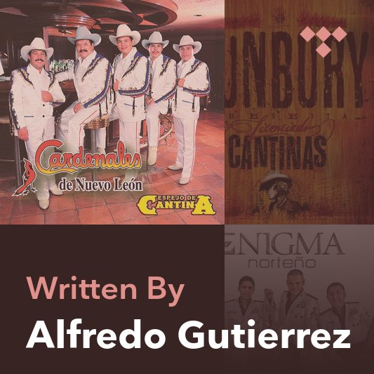 Songwriter Mix: Alfredo Gutierrez