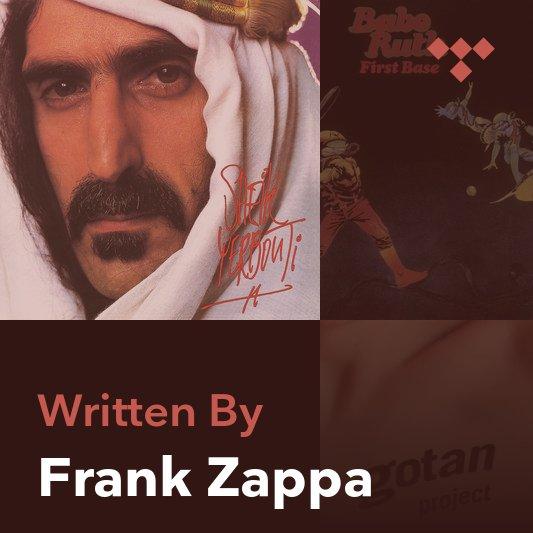 Songwriter Mix: Frank Zappa