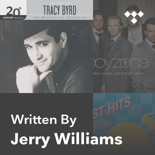 Songwriter Mix: Jerry Williams