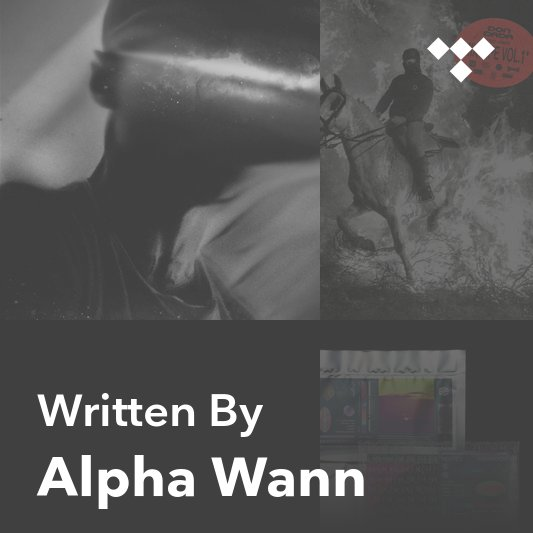 Songwriter Mix: Alpha Wann