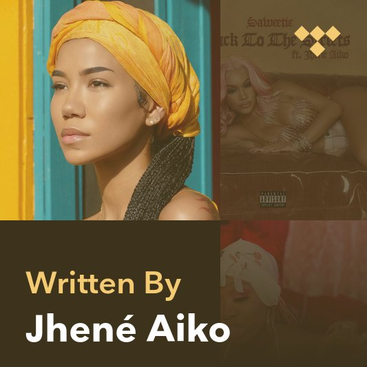 Songwriter Mix: Jhené Aiko
