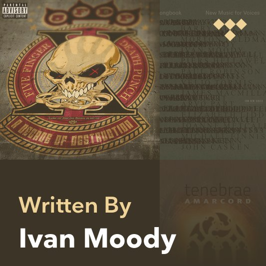 Songwriter Mix: Ivan Moody