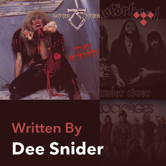 Songwriter Mix: Dee Snider