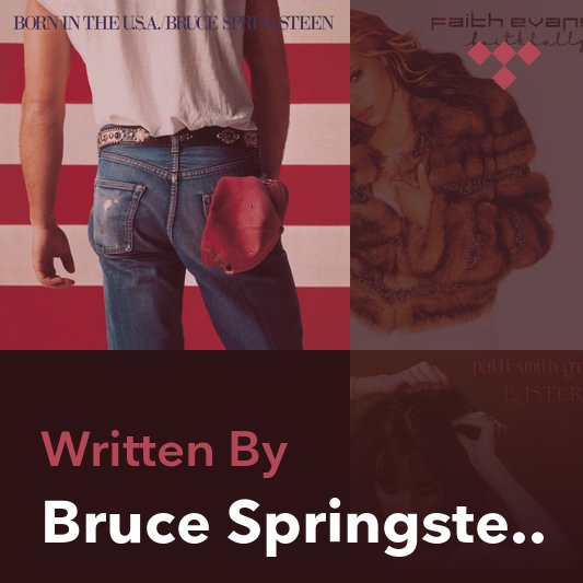 Songwriter Mix: Bruce Springsteen