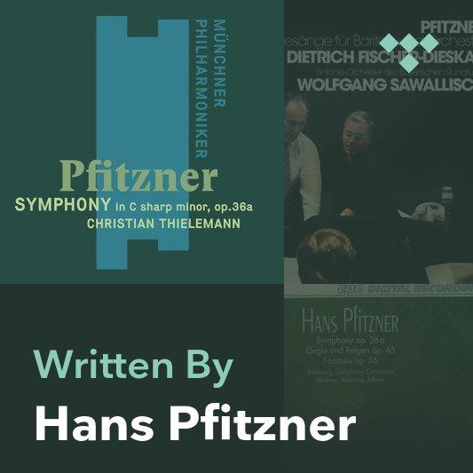 Songwriter Mix: Hans Pfitzner