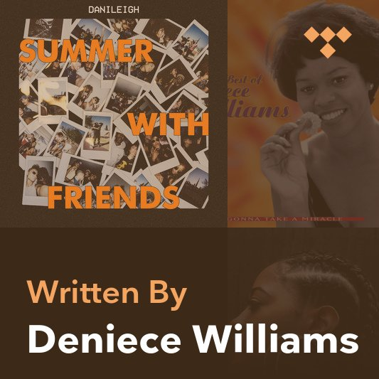 Songwriter Mix: Deniece Williams