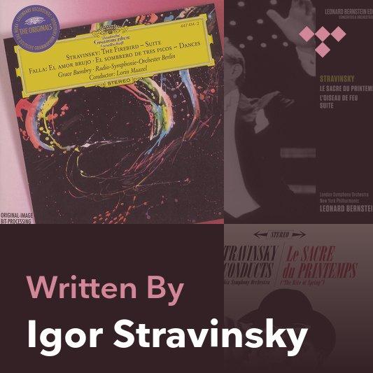 Songwriter Mix: Igor Stravinsky