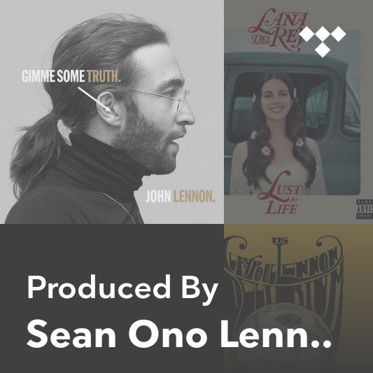 Producer Mix: Sean Ono Lennon