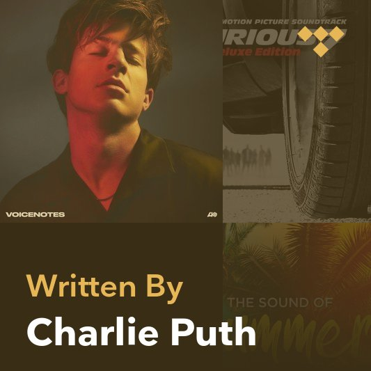 Songwriter Mix: Charlie Puth