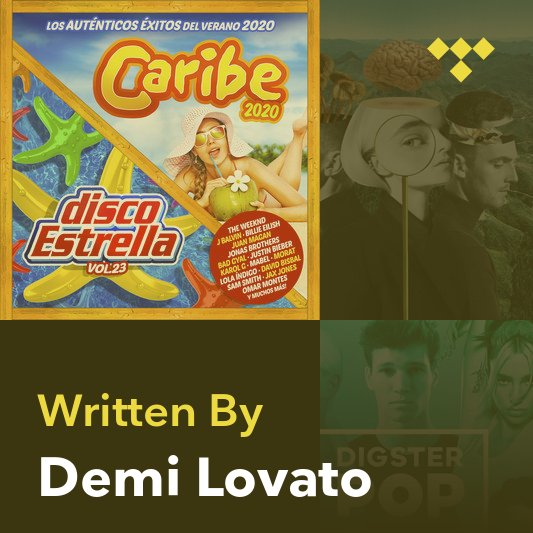 Songwriter Mix: Demi Lovato