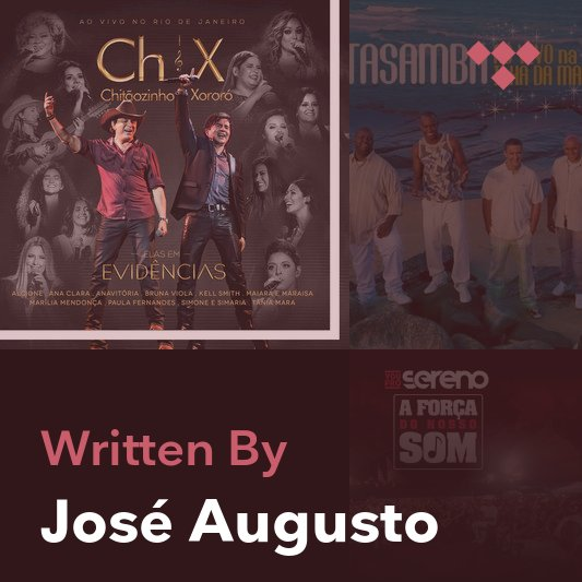 Songwriter Mix: José Augusto