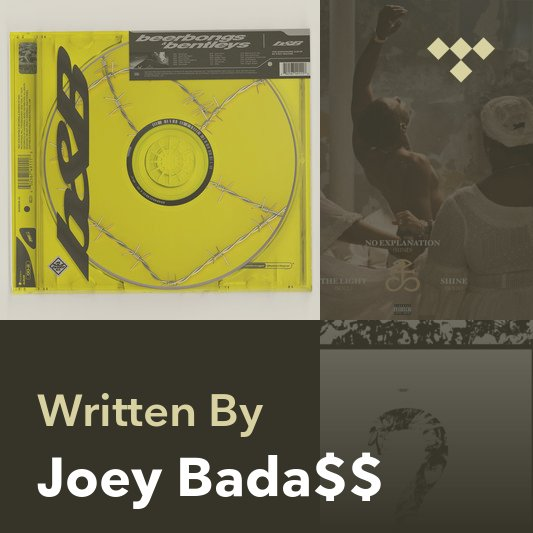 Songwriter Mix: Joey Bada$$