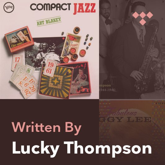 Songwriter Mix: Lucky Thompson