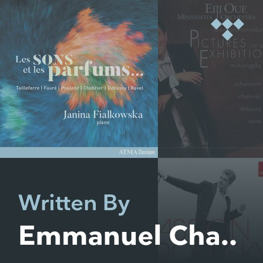 Songwriter Mix: Emmanuel Chabrier