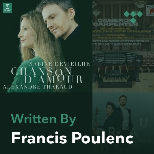 Songwriter Mix: Francis Poulenc