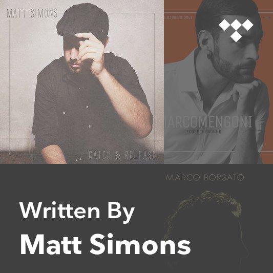 Songwriter Mix: Matt Simons