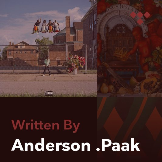 Songwriter Mix: Anderson .Paak