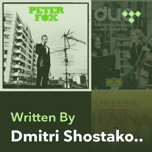Songwriter Mix: Dmitri Shostakovich