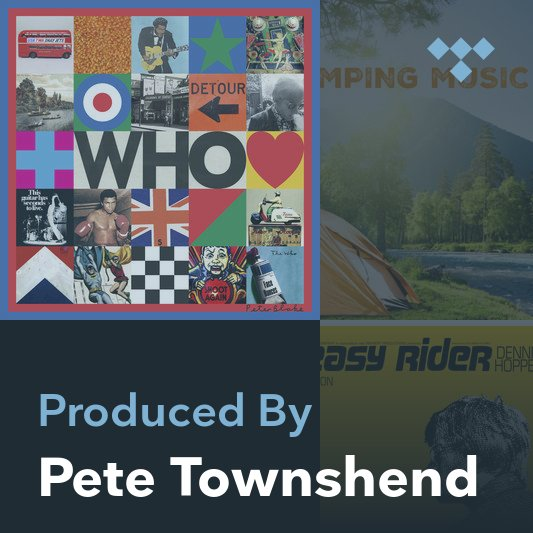 Producer Mix: Pete Townshend