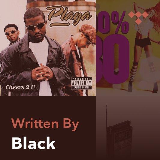 Songwriter Mix: Black