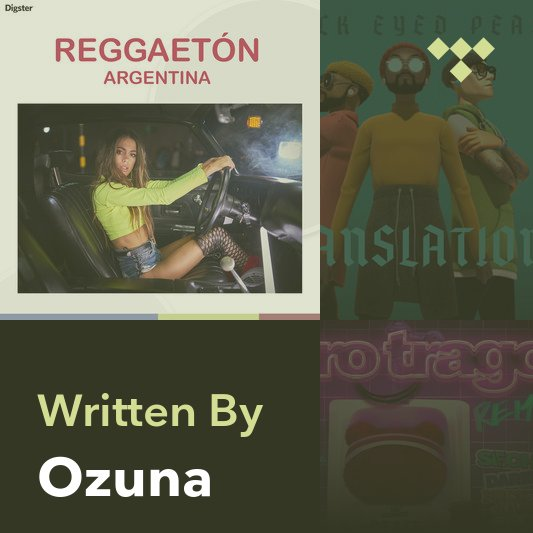 Songwriter Mix: Ozuna