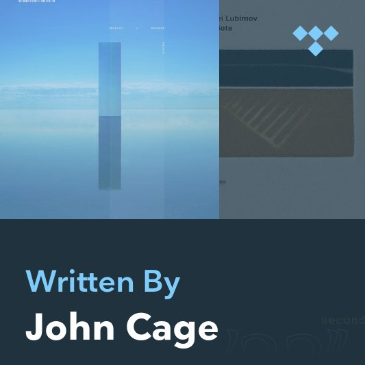 Songwriter Mix: John Cage