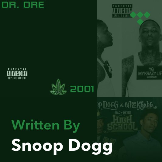 Songwriter Mix: Snoop Dogg