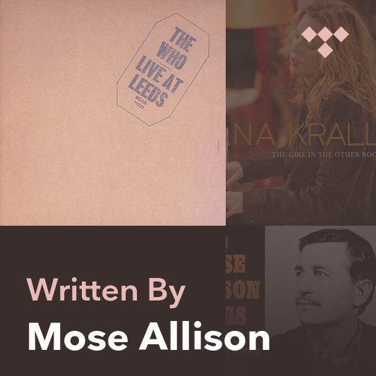 Songwriter Mix: Mose Allison