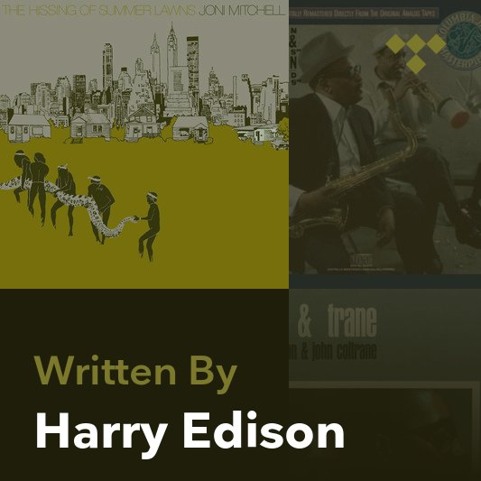 Songwriter Mix: Harry Edison