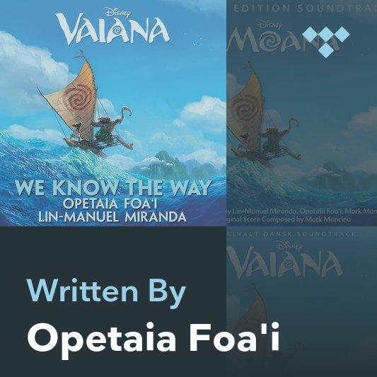 Songwriter Mix: Opetaia Foa'i