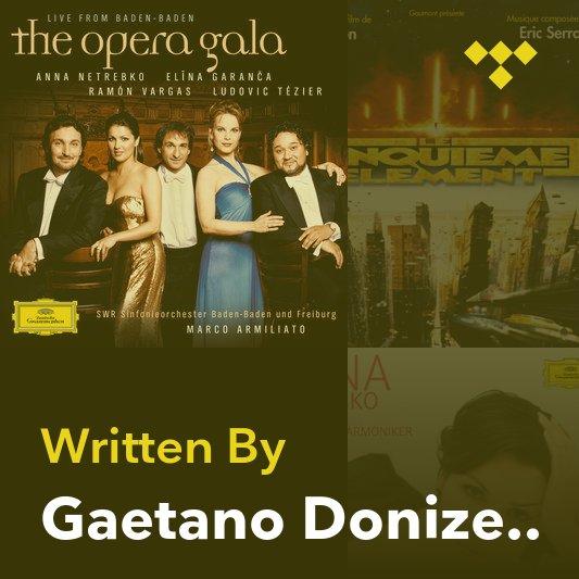 Songwriter Mix: Gaetano Donizetti