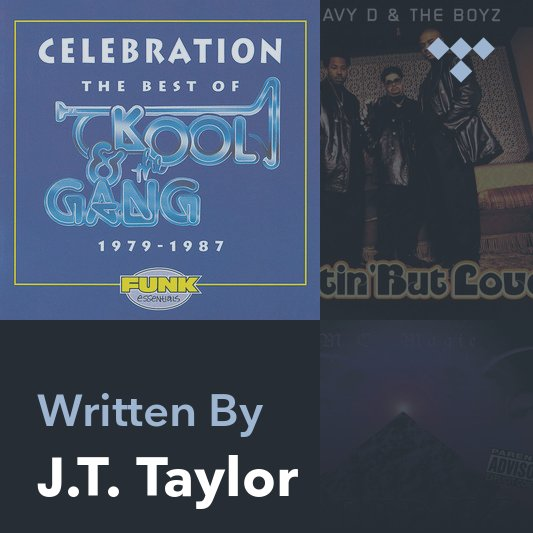 Songwriter Mix: J.T. Taylor
