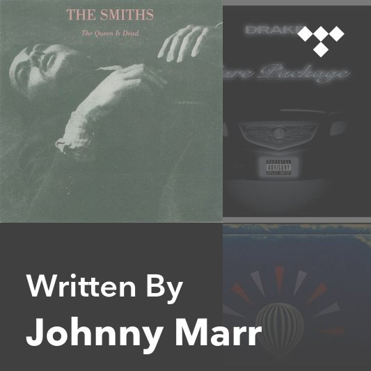 Songwriter Mix: Johnny Marr