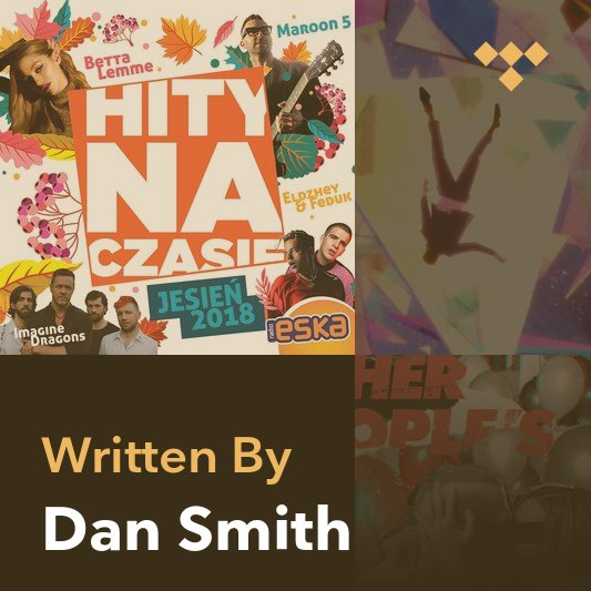 Songwriter Mix: Dan Smith