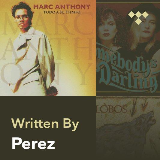 Songwriter Mix: Perez