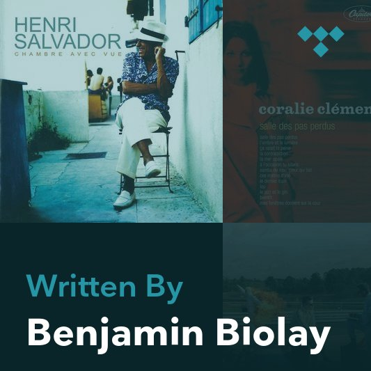 Songwriter Mix: Benjamin Biolay