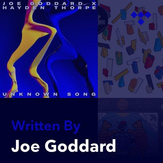 Songwriter Mix: Joe Goddard